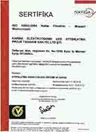 KARMA LED Aydınlatma ISO 10002
