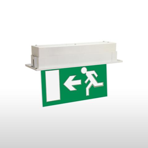 RISTA® – Sıva Altı LED Acil Çıkış ve Yönlendirme Armatürü