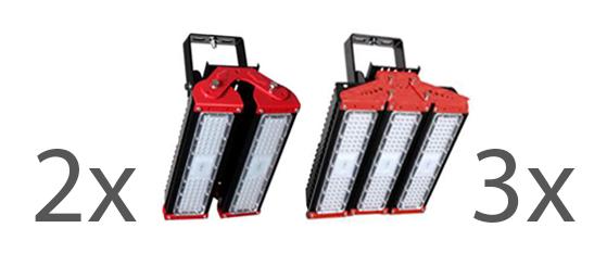 LED projektör armatür